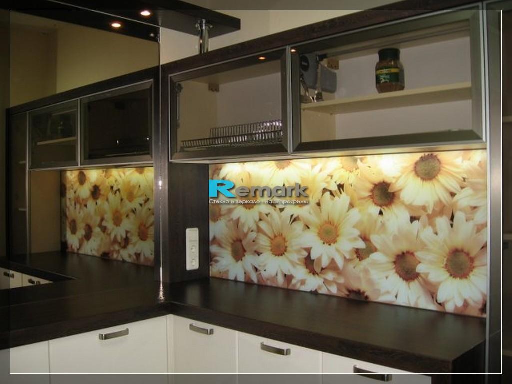 Стеновая панель для кухни из мдф с фотопечатью фото